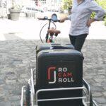 RoCamRoll  – pour la captation vidéo à Paris, les 10 derniers kilomètres se font à vélo